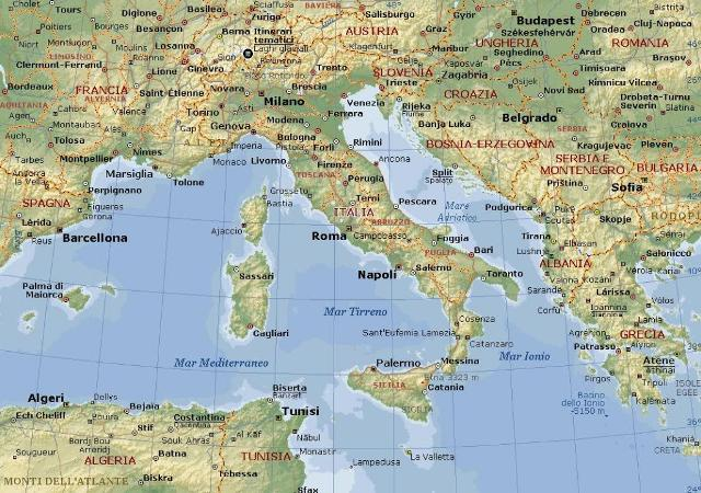Cartina italia magio bike tour il giro del mondo in - Mappa del mondo contorno ks2 ...